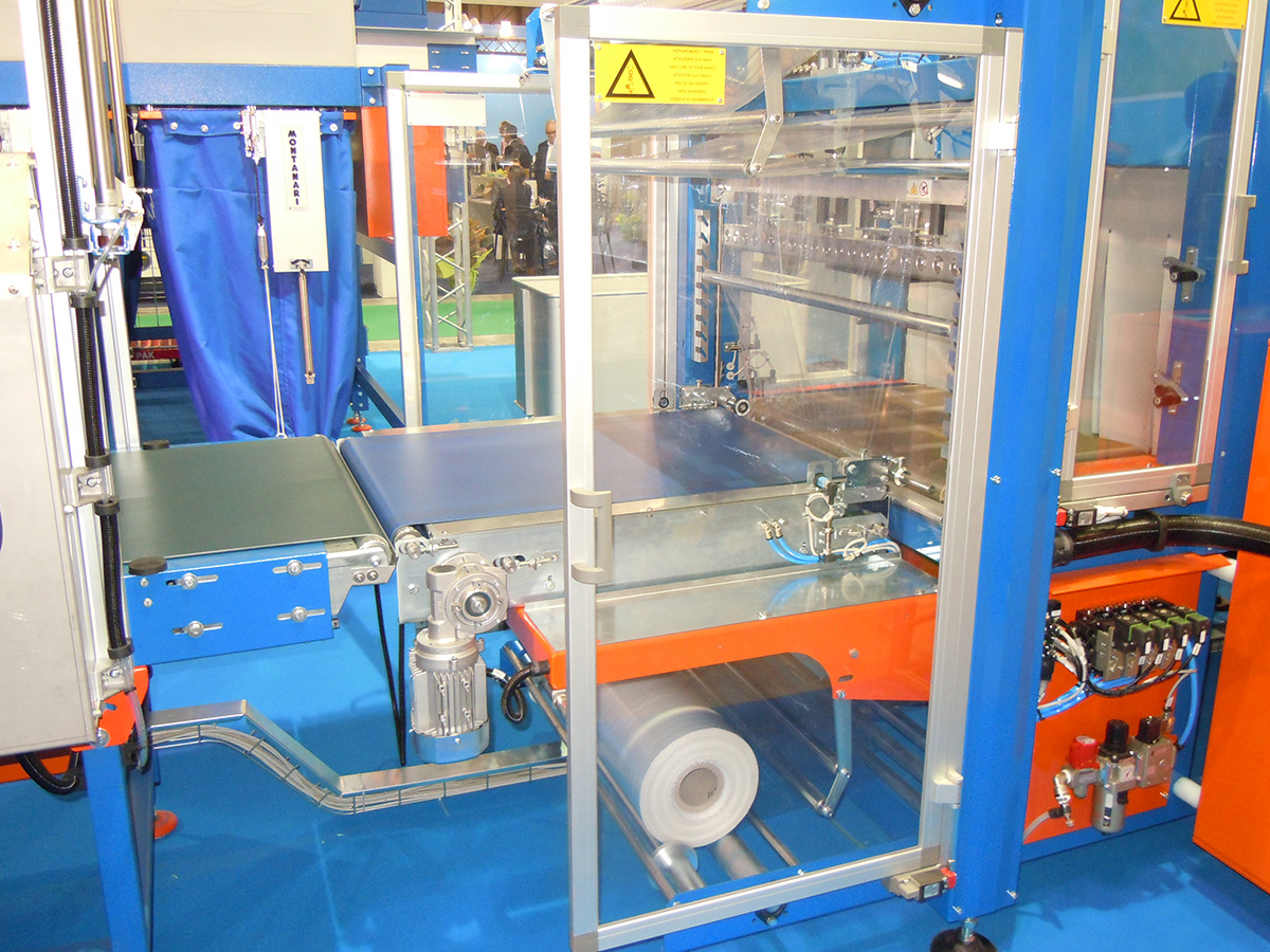 Shrink Wrapping Machine With Thermo